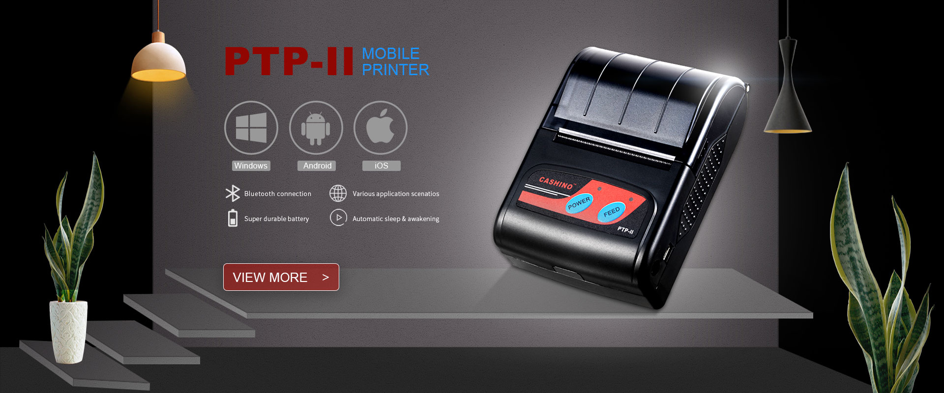 58mm portable mobile thermal receipt printer manufacturer